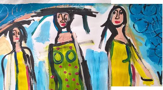 création Valérie Forestier art-thérapie à Lyon
